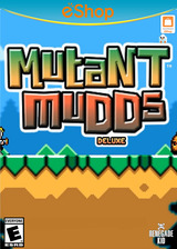 Mutant Mudds Deluxe eShop cover (WMME)