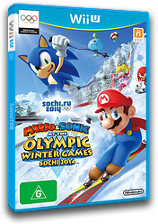 Mario & Sonic at the Sochi 2014 Olympic Winter Games WiiU cover (AURP01)