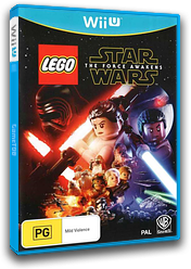LEGO Star Wars: The Force Awakens WiiU cover (BLGPWR)