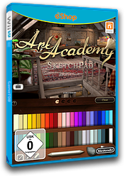 Art Academy: SketchPad eShop cover (AA9P)