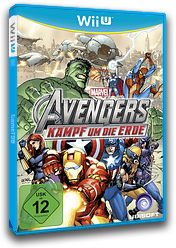 Marvel Avengers: Battle for Earth WiiU cover (AMVP41)