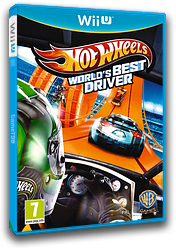 Hot Wheels: World's Best Driver WiiU cover (AHWPWR)