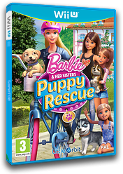 Barbie and Her Sisters: Puppy Rescue WiiU cover (BRQPVZ)