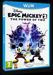 Disney Epic Mickey 2: El retorno de dos héroes WiiU cover (AEMS4Q)