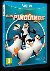 Los Pingüinos de Madagascar WiiU cover (APGPVZ)