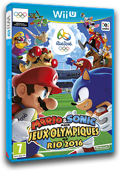Mario & Sonic aux Jeux Olympiques de Rio 2016 pochette WiiU (ABJP01)