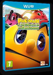 Pac-Man et les Aventures de Fantômes pochette WiiU (APCPAF)