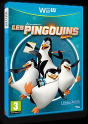 Les Pingouins de Madagascar pochette WiiU (APGPVZ)