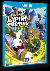 The Lapins Crétins Land pochette WiiU (ARBP41)