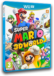 Super Mario 3D World pochette WiiU (ARDP01)