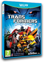 Transformers Prime: The Game pochette WiiU (ATRP52)