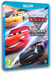 Cars 3: Driven to Win pochette WiiU (BA4PWR)