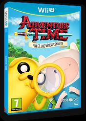 Adventure Time:Finn Et Jake Mènent L'enquête pochette WiiU (BFNPVZ)
