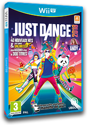 Just Dance 2018 pochette WiiU (BJ8P41)