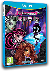 Monster High : une nouvelle élève à Monster High pochette WiiU (BMSPVZ)