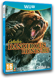 Cabela's Dangerous Hunts 2013 WiiU cover (ACAP52)