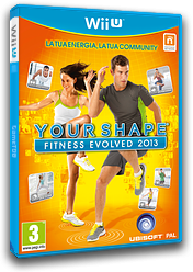 Your Shape: Fitness Evolved 2013 WiiU cover (AYSP41)