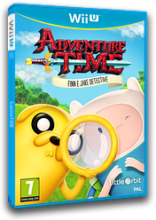Adventure Time: Finn e Jake detective WiiU cover (BFNPVZ)
