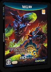 モンスターハンター3(トライ)G HD Ver. WiiU cover (AHDJ08)