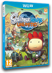 Scribblenauts Unlimited WiiU cover (ASCP01)
