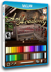 Art Academy: SketchPad eShop cover (AA9E)