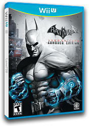 Batman Arkham City: Armored Edition WiiU cover (ABTEWR)