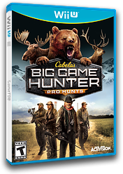 Cabela's Big Game Hunter: Pro Hunts WiiU cover (ACEE52)