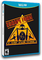 Escape From Flare Industries eShop cover (AEFE)