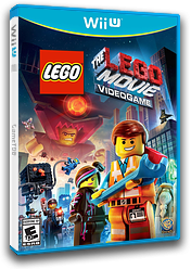 The LEGO Movie Videogame WiiU cover (ALAEWR)