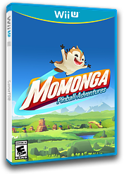 Momonga Pinball Adventures eShop cover (AMPE)