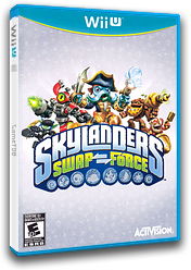 Skylanders: Swap Force WiiU cover (ASFE52)