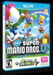 New Super Mario Bros. U + New Super Luigi U WiiU cover (ATWE01)