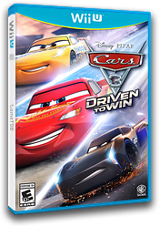 Cars 3: Driven to Win WiiU cover (BA4EWR)