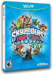 Skylanders: Trap Team WiiU cover (BK7E52)