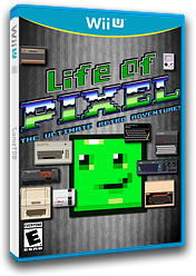 Life of Pixel eShop cover (BLPE)