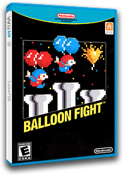 Balloon Fight VC-NES cover (FAJE)