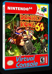 Donkey Kong 64 VC-N64 cover (NAAE)