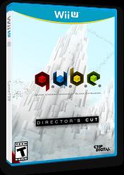 Q.U.B.E: Director's Cut eShop cover (WDCE)