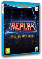 REPLAY:VHS is not dead eShop cover (BREP)