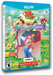 Mario Party 10 WiiU cover (ABAE01)
