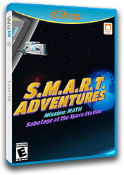 SMART Adventures Mission Math: Sabotage at the Space Station eShop cover (ADME)