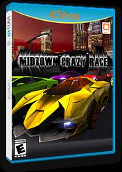 Midtown Crazy Race eShop cover (BCRE)
