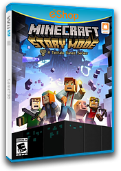 Minecraft: Story Mode - Episode 1: The Order of the Stone eShop cover (BMTE)