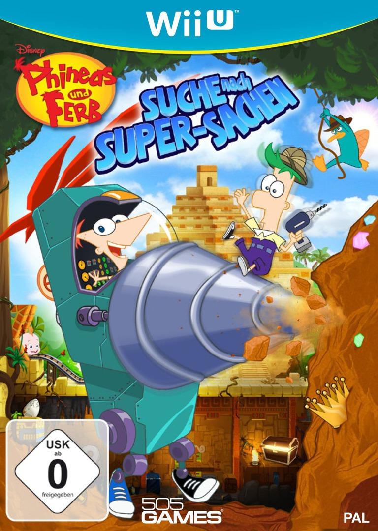 Phineas und Ferb: Suche nach Super-Sachen WiiU coverHQ (APFPGT)