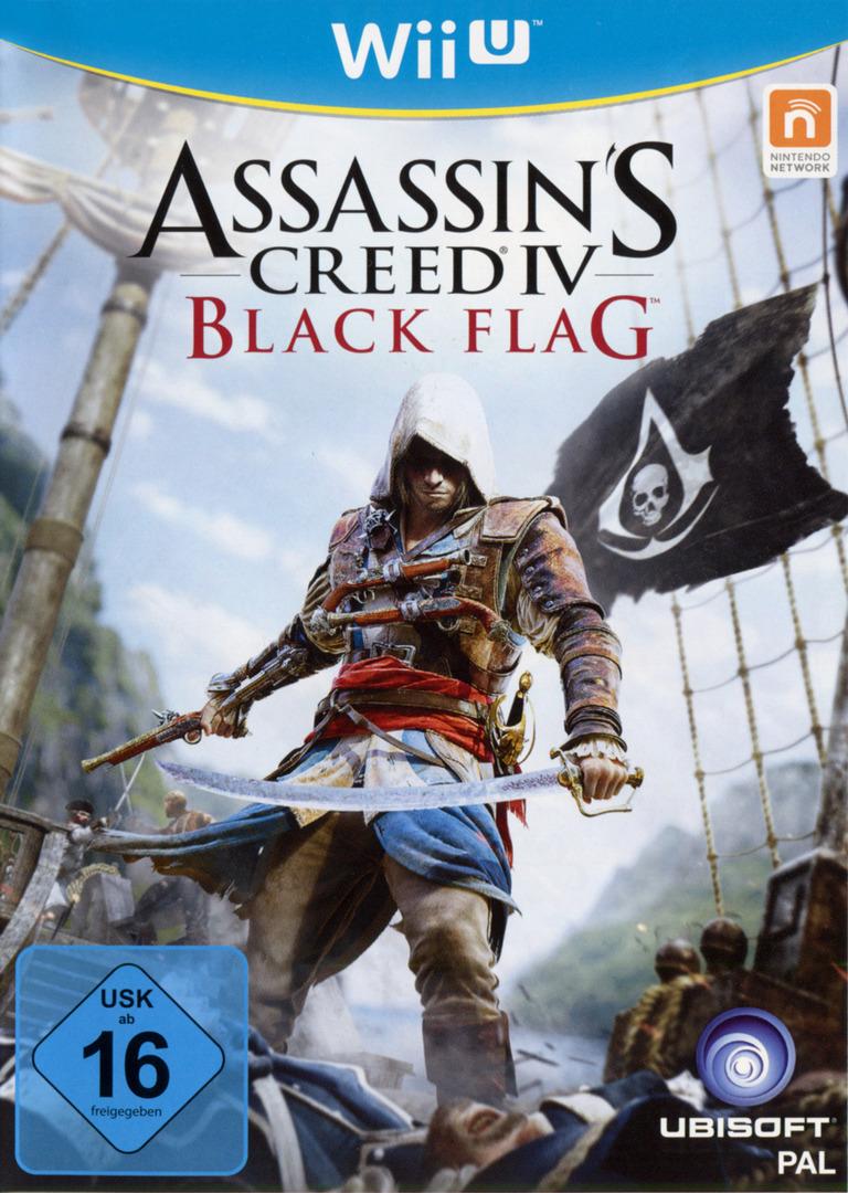 Assassin's Creed IV: Black Flag WiiU coverHQ (ASBP41)
