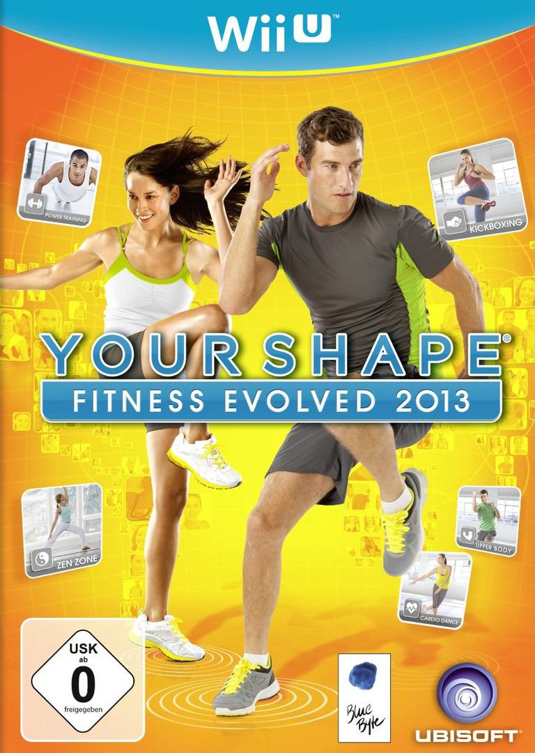 Your Shape: Fitness Evolved 2013 WiiU coverHQ (AYSP41)