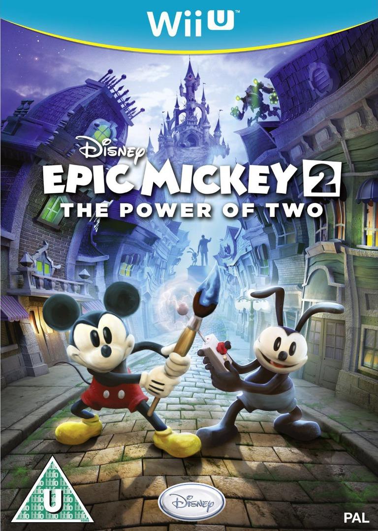 Disney Epic Mickey 2: The Power of Two WiiU coverHQ (AEMP4Q)