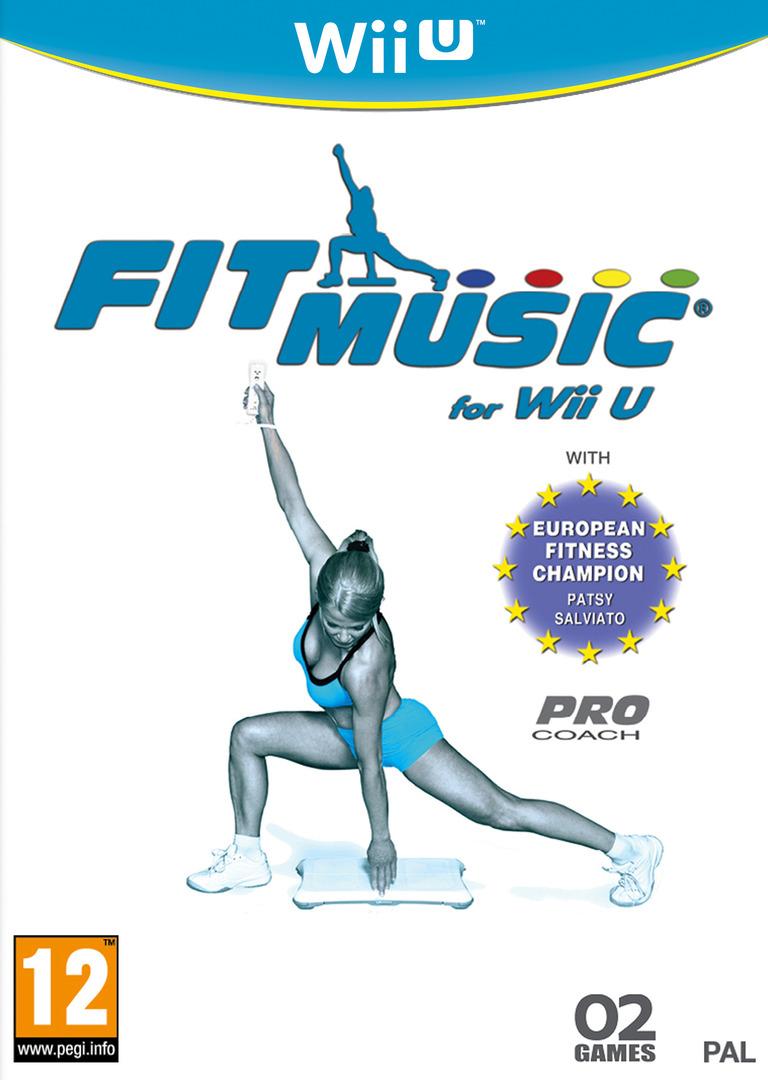 Fit Music for Wii U WiiU coverHQ (AFMPYF)