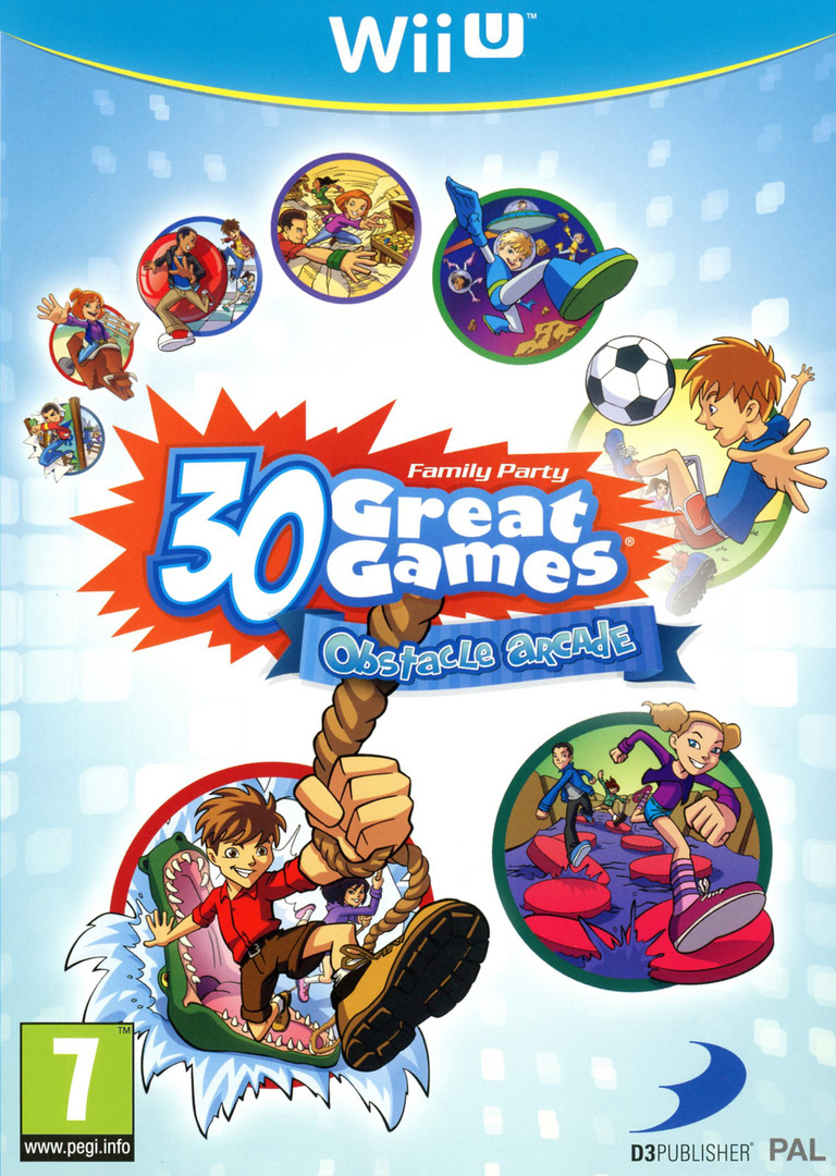 Family Party: 30 Great Games Obstacle Arcade WiiU coverHQ (AFPPAF)