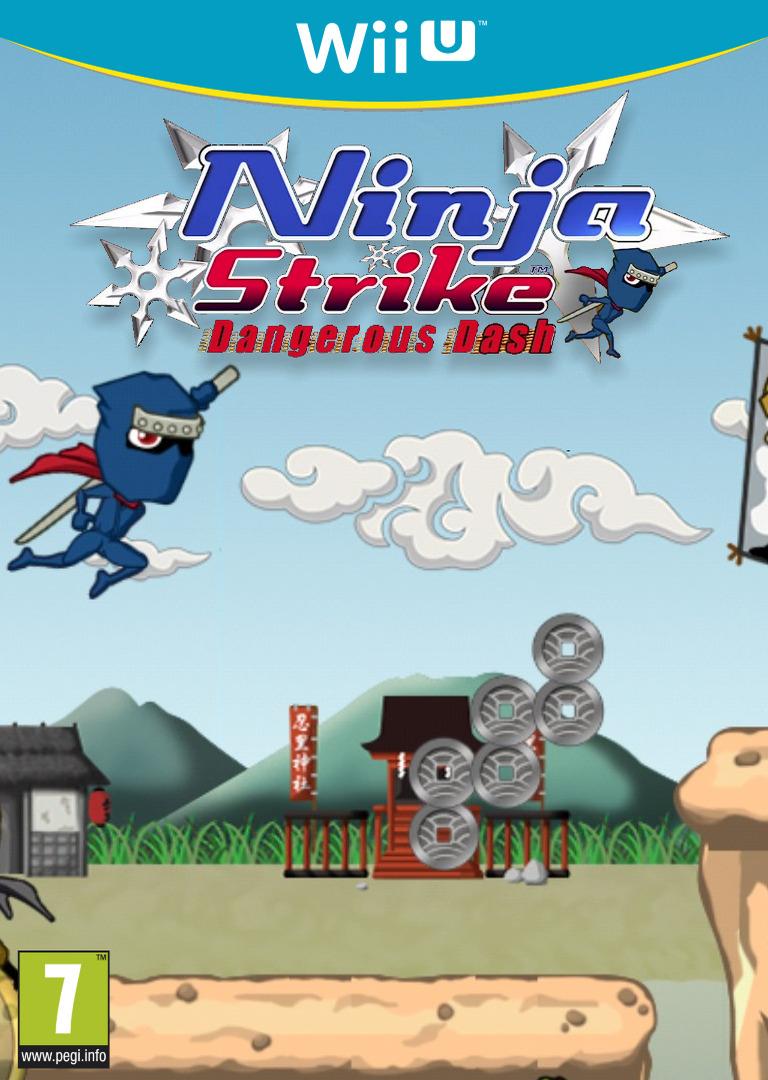 Ninja Strike: Dangerous Dash WiiU coverHQ (ANJP)